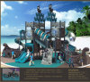 Kaiqi Large Pirate Ship Themed Children′s Playground with Slides (KQ50052A)