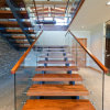 Modern Design of Stairs DIY Steel Stairs Space Saver Stairs
