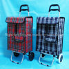 Easy Storage Shopping Trolley Cart for Supermarket with 2 Wheel