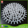 Plastic CPVC Teller Rosette, Tellerette Tower Packing Ring