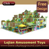 En1176 Plastic Colorful Castle Theme Indoor Playground