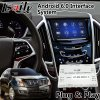 Android Car GPS Navigation Interface for Cadillac Srx Cue System Spotify Google