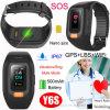 Waterproof Long Working Hours GPS Tracker Bracelet with Heart Rate Monitor Y6s