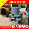 Small Scale Gold Beneficiation Equipment for Alluvial Sand Gold Concentration