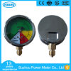 63mm Half Stainless Steel Non-Isometric Scale Liquid Filled Pressure Gauge