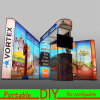Portable Modular Trade Show Exhibition Booth LED Aluminum Fabric Light Box