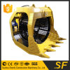 SF Factory Price Screen Bucket Rotary Screening Bucket for Excavator
