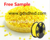 ABS Citrus Yellow Masterbatch Colorant 3D Printing Injection Molding