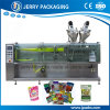Full Automatic Horizontal Pouch Film Forming Filling Sealing Parking Machine