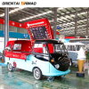 Customzed Catering Mobile Fast Cart Kiosk Soft Drink Food Trolley