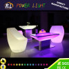 Illuminated Colorful LED Furniture LED Square Table