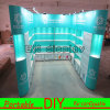 Custom Easy Set-up Portable Modular Exhibition Stand for Trade Show Fair Display Booth with Lights