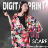 2017 Cotton / Digital Printed Cotton Scarf (X1101)