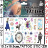 Temporary Body Cartoon Tattoo Sticker (cg063)