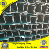Cold Rolled Ltz Steel Window Profile Tubes 0.6mm