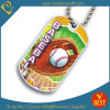 Custom Baseball Dog Tag