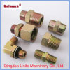 Metric Female Flat Face Plug Hydraulic Adapter Fitting