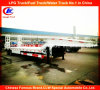 2 Axle Low Loader Lowbed Semi Trailer with Mechanical Ramps