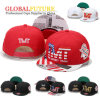 Fashion Custom Logo 3D Embroidery Flat Hiphop Snapback Baseball Cap