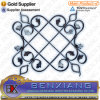 Flower Fence Panels Wrought Iron Rosettes