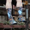 Fashion Terry Sublimation Sport Sock
