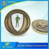 Professonal Customized Antique Brass Plated Zinc Alloy Die Casting Souvenir Coins with Any Logo (XF-CO09)