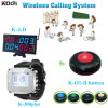 Food Call Buzzer System for Cafe House Counter Display with Watch and Service Button