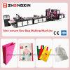 Fabric Non Woven Box Bag Making Machine Zxl-C700