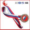 The Newest Hot Sale Award Metal Medal with Ribbon