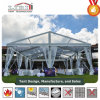 Hotel Restaurant Canopy Party Tent with Cassette Flooring and Lining Inside