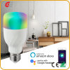Bulb with Music Bluetooth Lamps The Phone APP Remote Control Lamp WiFi Controlled 9W RGB+W LED Bulb Light Intelligent Smart Bulb LED Light