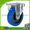 European Type Elastic Rubber Industrial Fixed Caster