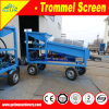 1-10th Portable Trommel Screen for Ilmenite Sand Mining Washing