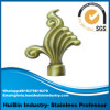 19mm Decoration Rod Finial, Aluminum Alloy Curtain Rod Finial, Natual Harmony Wrought Iron Curtain Rod Finials