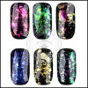 Galaxy Acrylic Foil Nails Decoration Sequins Chameleon Flake Glitters