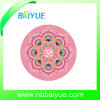 Eco Folding Round Suede Yoga Mat
