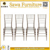 Wholesale Clear Crystal Plastic Resin Wedding Chiavari Chairs