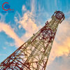 Galvanized Steel Lattice Telecom Antenna Tower