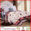 2017 New Season Coral Fleece Blanket with Printed Df-8858