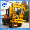 Diesel Engine Multi-Way Using Roadway Barrier Post Pile Driver