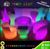 New Design Waterproof Outdoor Furniture Garden Furniture LED Sofa Chair