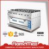 8 Burner Gas Range with Gas Oven (HGR-98G)