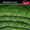 4 Tone Color Plastic Fake Synthetic Artificial Turf 30mm with UV-Resistant PE+PP Material for Wall /Garden Landscape/Outdoor Decoration/Flooring Covering