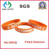 Adult Eco-Friendly Economical and Bright-Colored Silicone Hand Bracelet