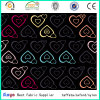 100% Polyester Oxford 600d Colorful Heart Printed Fabric for School Bags