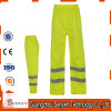 100% Cotton High Visibility Work Pants of Yellow