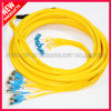 FTTH Fiber Optical D4 to LC Multiple SM Patch Cables