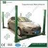 GG Brand Ce 2700-3600 Kg Hydraulic Cylinder Four Post Auto Vehicle Car Parking Lift
