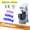 50kg Industrial Spiral Dough Mixer, Prices Spiral Mixer (CE, ISO9001, factory lowest price)