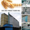 European Standards 80-120t/24h Wheat Flour Mill